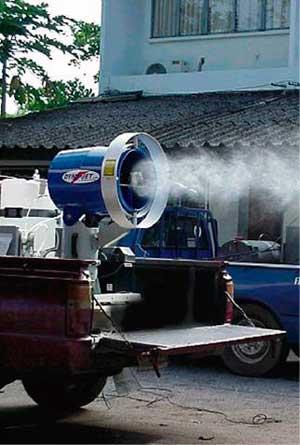 Картинки по запросу Dyna-Jet L30 аэрозольный ультра малообъёмный генератор тумана